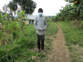 Ruhweza Sam p.5 with his face masks (6)