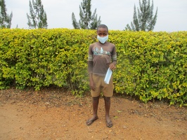 Tumusiime Dan p.4 with his face masks (3)